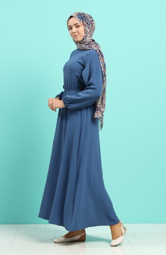 Robe Hijab Indigo 20021-01