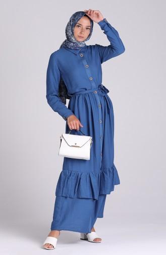 Indigo Hijap Kleider 0033-05