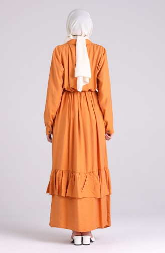 Robe Hijab Orange 0033-06