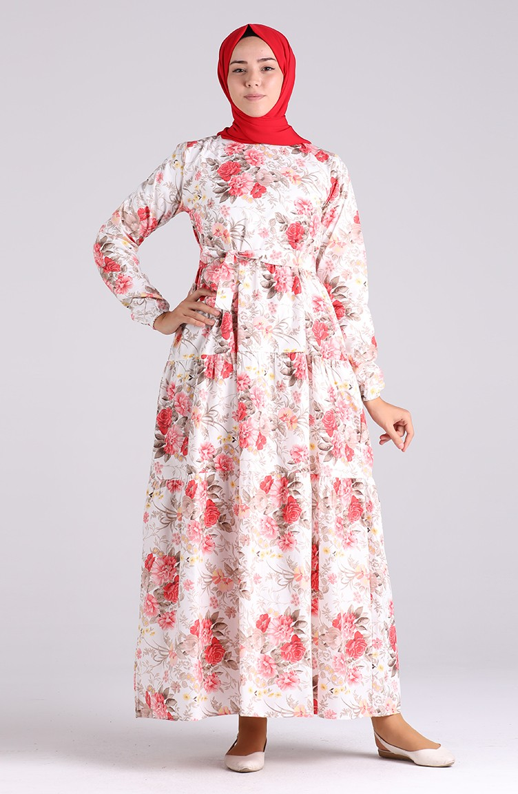 koralle hijap kleider 4617-01