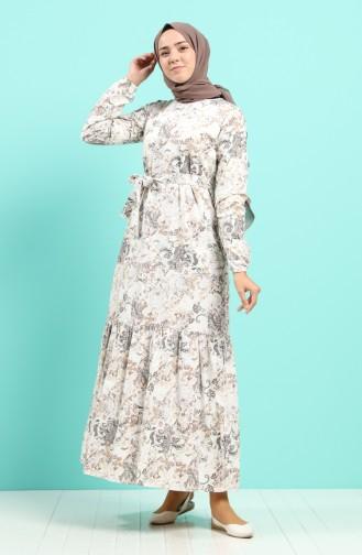 Robe Hijab Crème 4619-01