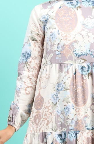 Robe Hijab Crème 4620-01
