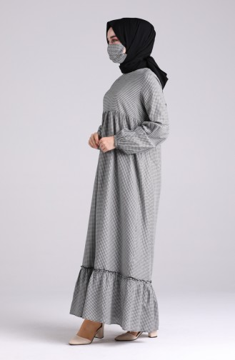 Robe Hijab Noir 1401-03