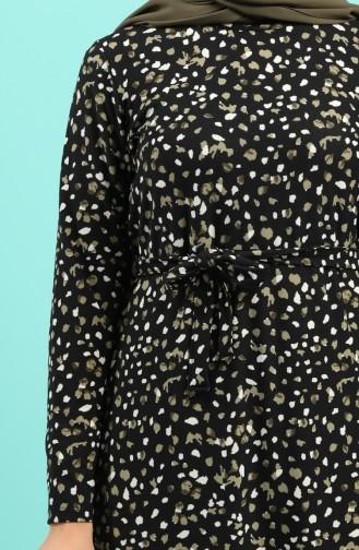 فستان كاكي 5709D-01