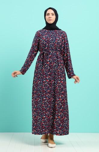 فستان مرجاني 5709D-03