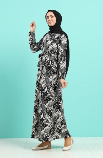 فستان أسود 5709F-02
