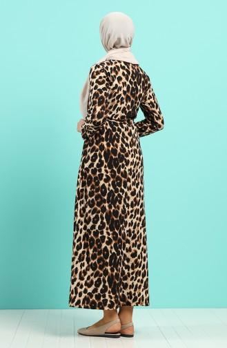 Braun Hijap Kleider 5709H-01