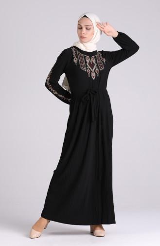 فستان أسود 5758-05
