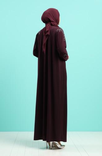 Zwetschge Hijap Kleider 1638-03