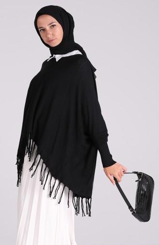 Schwarz Bluse 1092-04