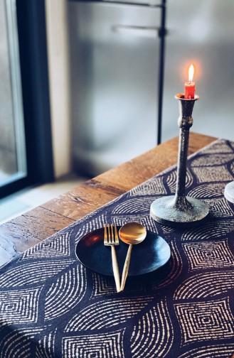 Textile de Maison Noir 1021