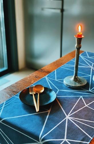 Textile de Maison Bleu 1034