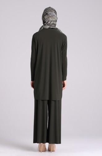 Sandy Tunic Pants Double Suit 2020-02 Khaki 2020-02