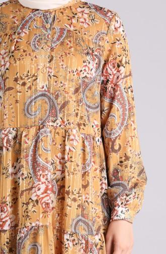 Senf Hijap Kleider 7688-02