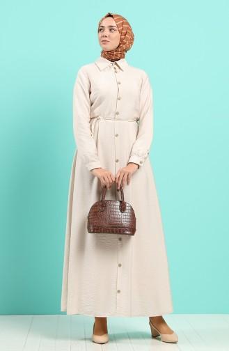 Robe Hijab Beige 40102-01