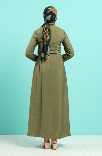 Robe Hijab Khaki 40102-04