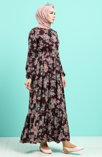 Zwetschge Hijap Kleider 4548-04