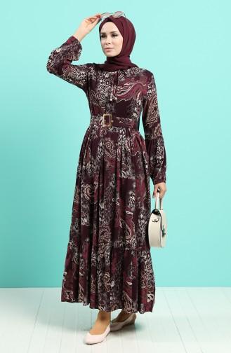 Robe Hijab Plum 4549-05