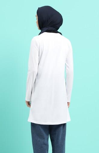 Tunique Blanc 7025-03