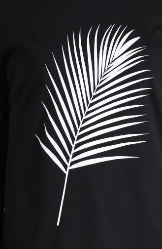 Tunique Noir 7026-01
