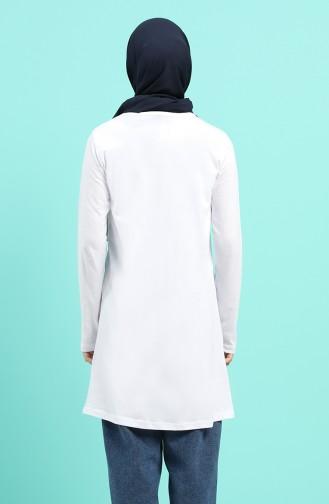 White Tuniek 7026-03