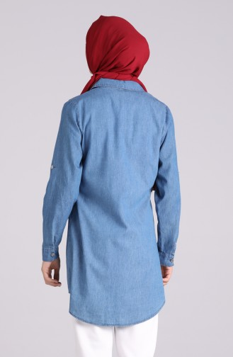 تونيك أزرق جينز 0572-01