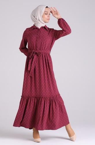 Dusty Rose Dress 3196-01