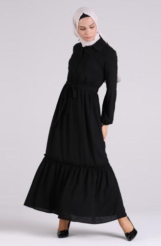 Robe Hijab Noir 3196-03