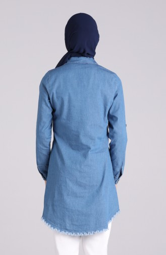تونيك أزرق جينز 1003-01