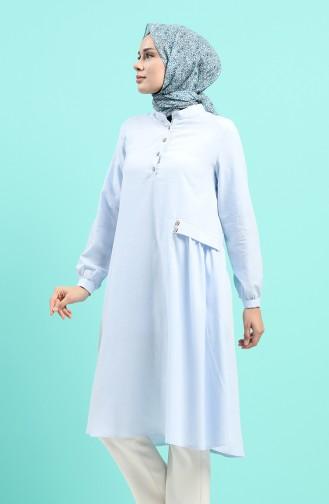 Tunique Bleu Bébé 4313-07