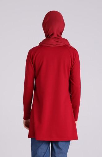 تونيك أحمر كلاريت 3047-03