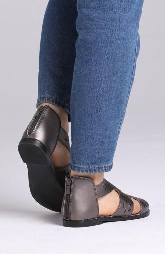 Sandales D`été Platine 0002-04