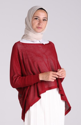 Weinrot Bluse 1093-03