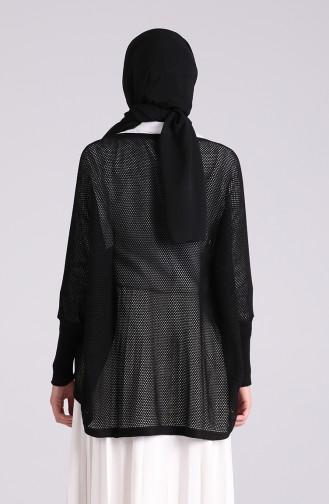 Schwarz Bluse 1093-08