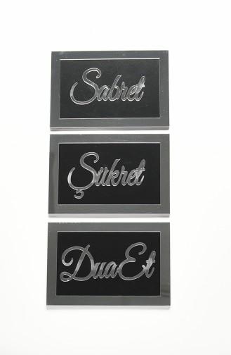 Accessoires de Maison Noir 04001SG-03