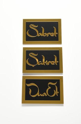 Schwarz Wohnaccessoires 04002SA-01