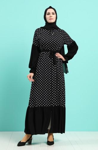 Abayas Noir 8094-01