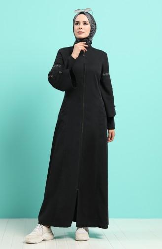 Schwarz Abayas 9277-03