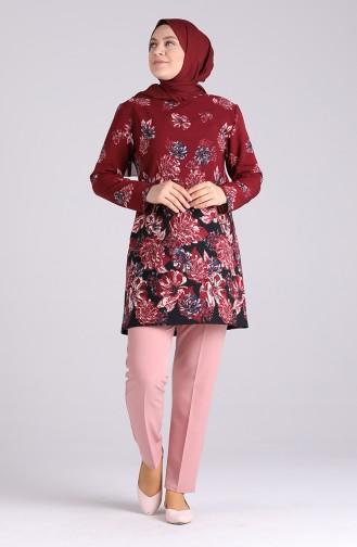 Pantalon Poudre Foncé 1110-34