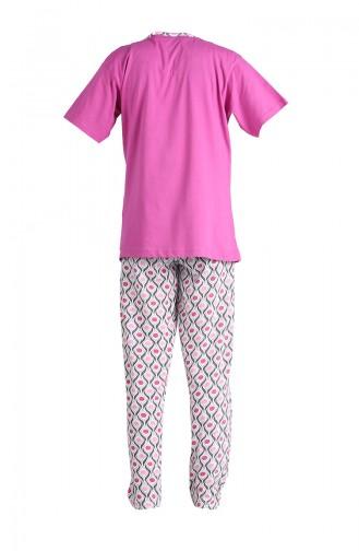 Lila Pyjama 1501A-02