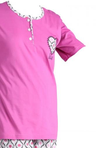 Pyjama Pourpre 1501A-02