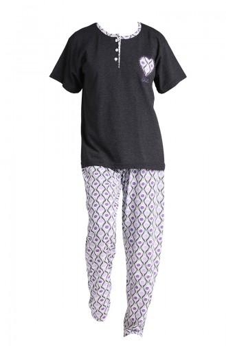 Pyjama Noir 1501A-03