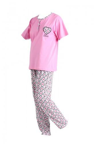 Rosa Pyjama 1501A-04