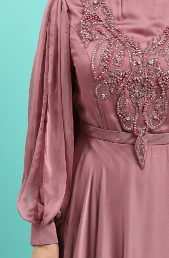 Habillé Hijab Rose Pâle 52777-03