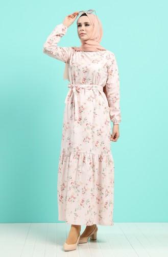 Robe Hijab Poudre 4610-03