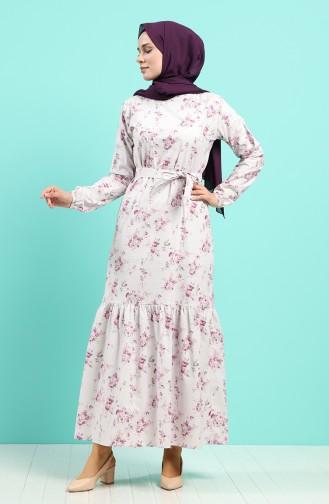 Robe Hijab Plum 4610-04