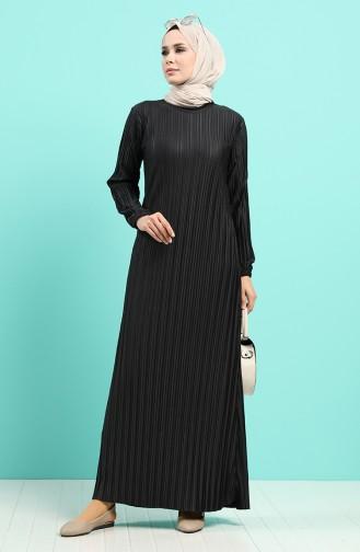 Schwarz Hijap Kleider 4204-01