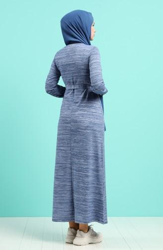 Robe Hijab Indigo 4205C-02