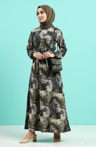 Robe Hijab Khaki 0380-02
