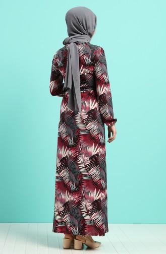 Zwetschge Hijap Kleider 0380-03